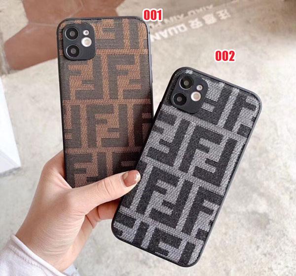 フェンディ 風 iphone12 ケース